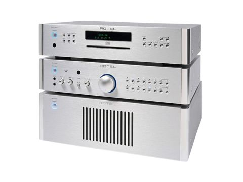 Rotel RCD-1520 CD player and RC-1580/RB-1582 amplifiers