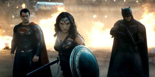 The DC Trinity in Batman v Superman