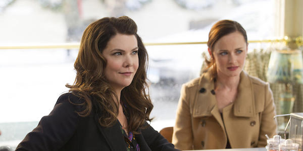 Lorelai at Luke's in Gilmore Girls: A Year in the Life