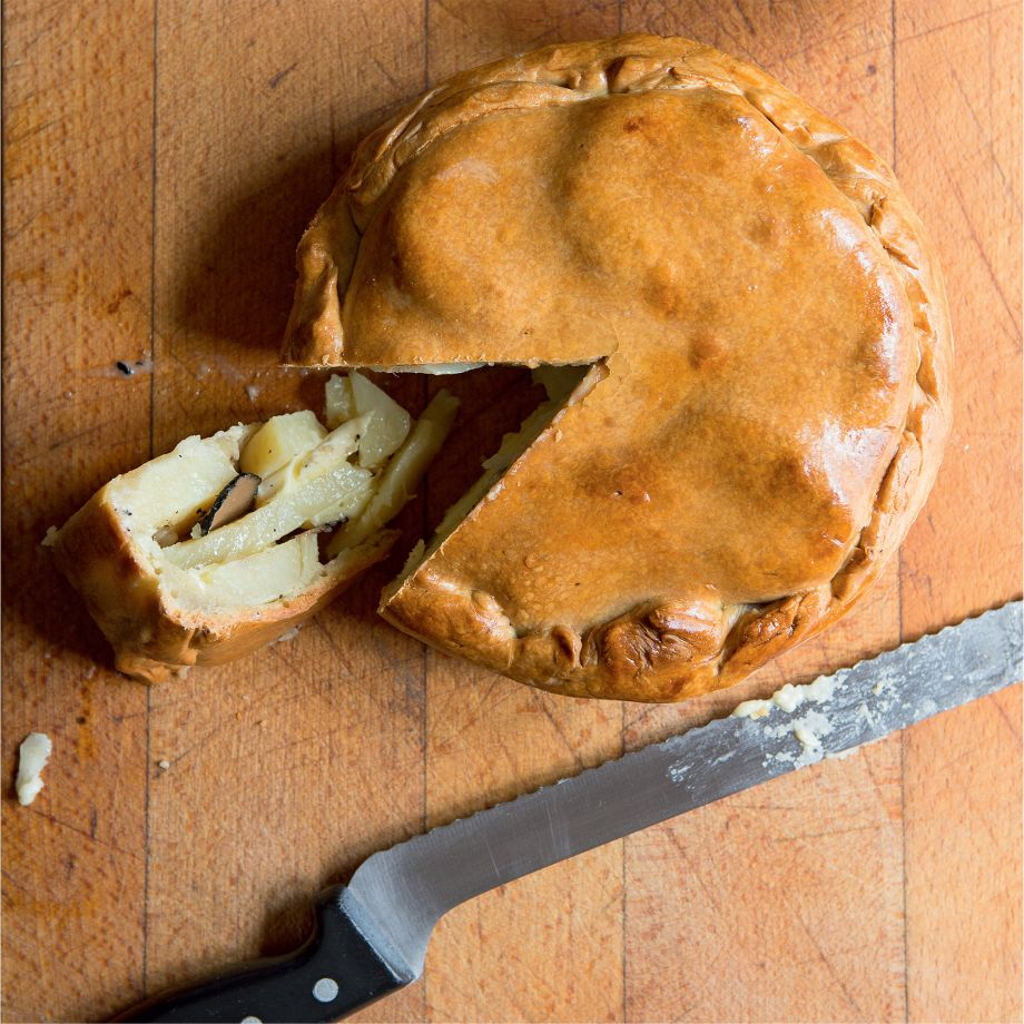 Truffle, Cheese and Potato Pie Recipe