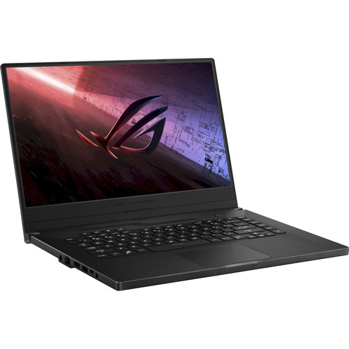 Asus ROG Zephyrus G15 AMD Advanced Edition Against A Pure White Background