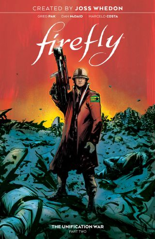 'Firefly: The Unification War Vol. 2' reveals Mal Reynolds' military past
