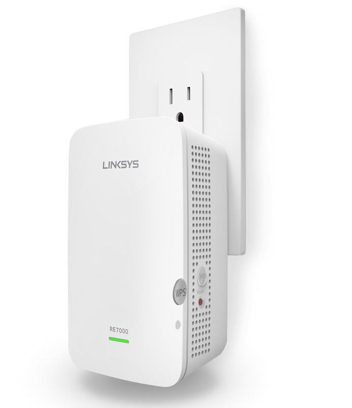 Linksys RE7000 Max-Stream AC1900+ Wi-Fi Range Extender