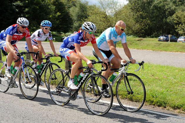 GB women, London Surrey Cycle Classic training, Saturday August 13