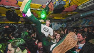 Fear not, music lovers: your fervent crowd surfing may continue unimpinged by noise complaints