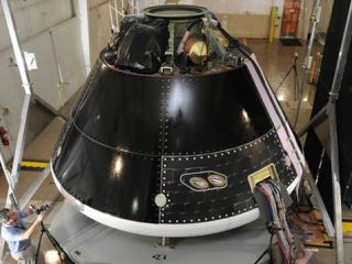 Nasa's new capsule. Not to be swallowed