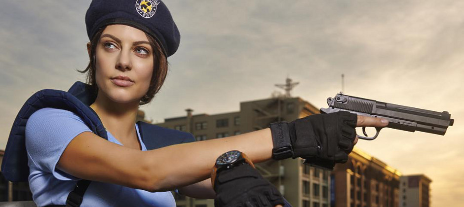 Is This Jill Valentine Cosplay Still Cosplay If It S Her