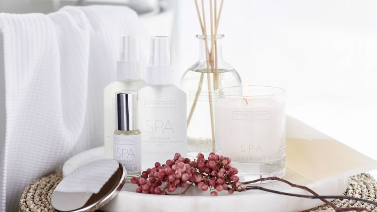 Best home fragrance: The White Company Spa Retreat collection