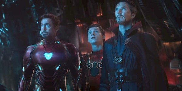 Iron Man, Spider-Man, and Doctor Strange