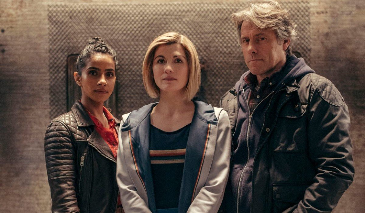 Yaz The Doctor and Dan on Doctor Who BBC America