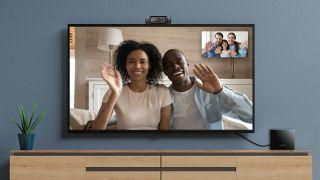 Webcam on Amazon Fire TV Cube