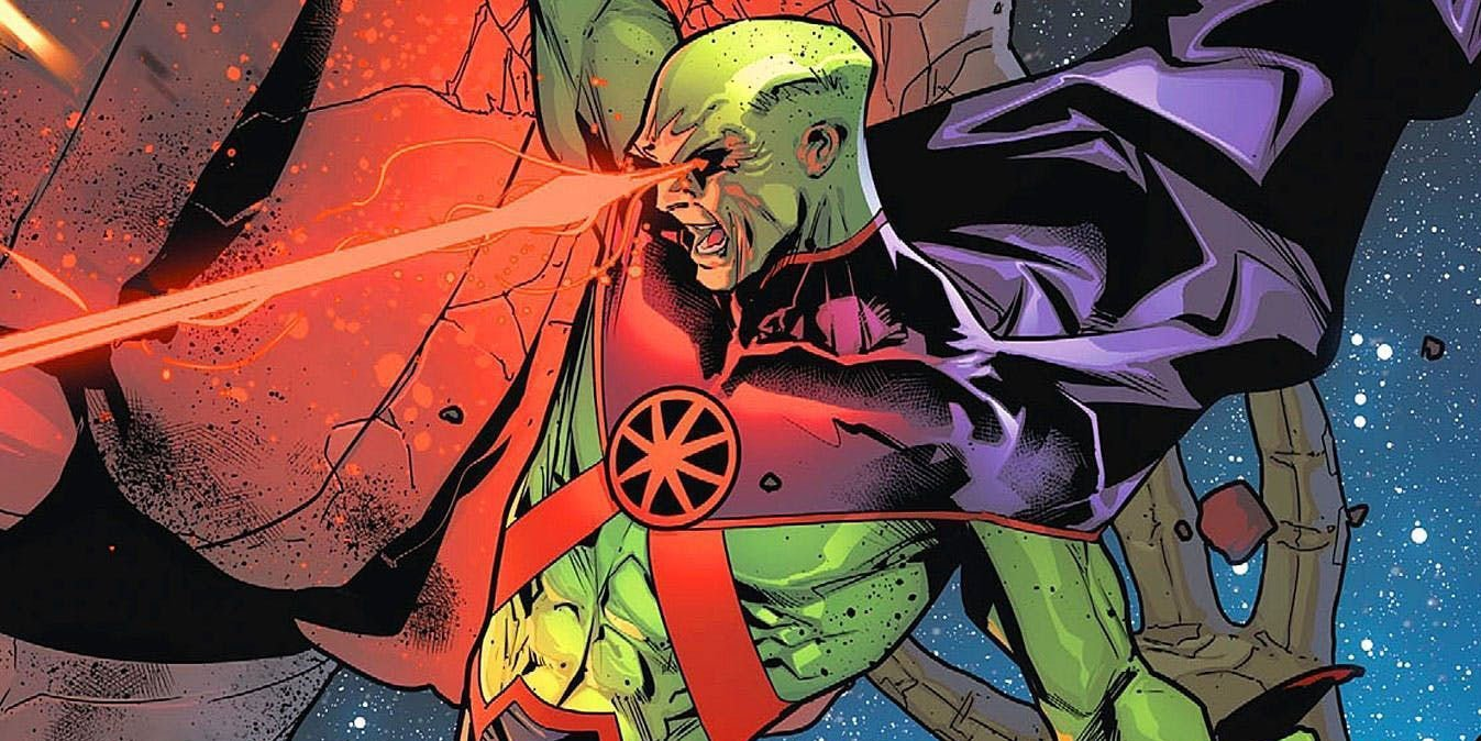 Martian Manhunter uses his Super Powers