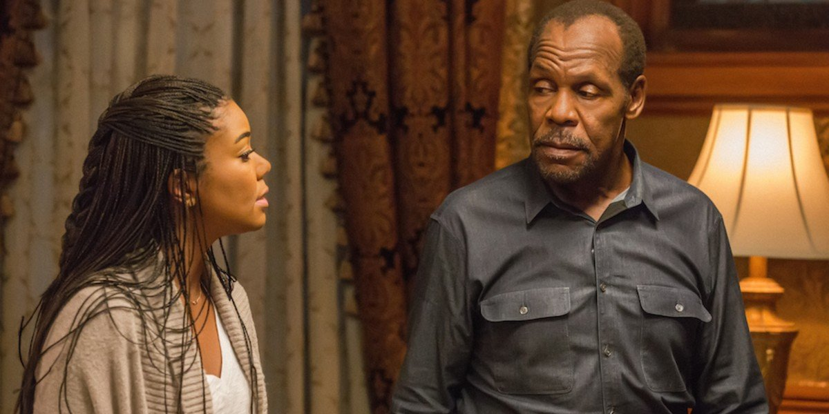 Danny Glover and Gabrielle Union in Almost Christmas