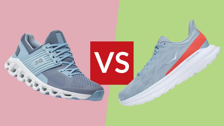 ON Cloudswift vs Hoka One One Mach 4