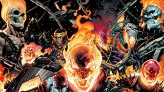 Ghost Rider speeds into his 50th anniversary in 2022, with a whole host of Spirits of Vengeance