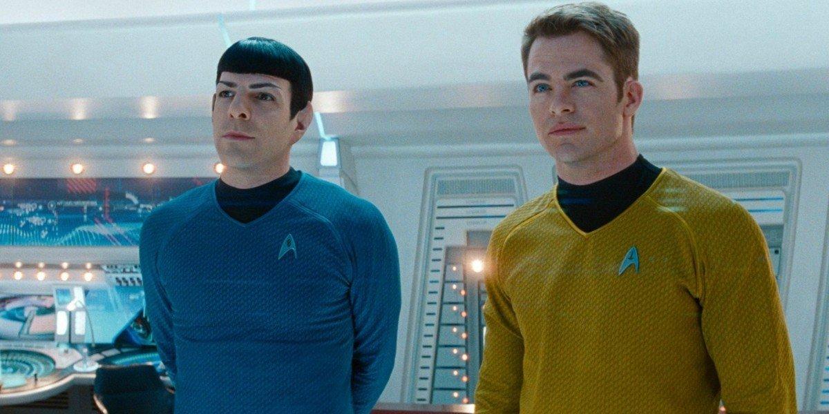 Zachary Quinto, Chris Pine - Star Trek Beyond