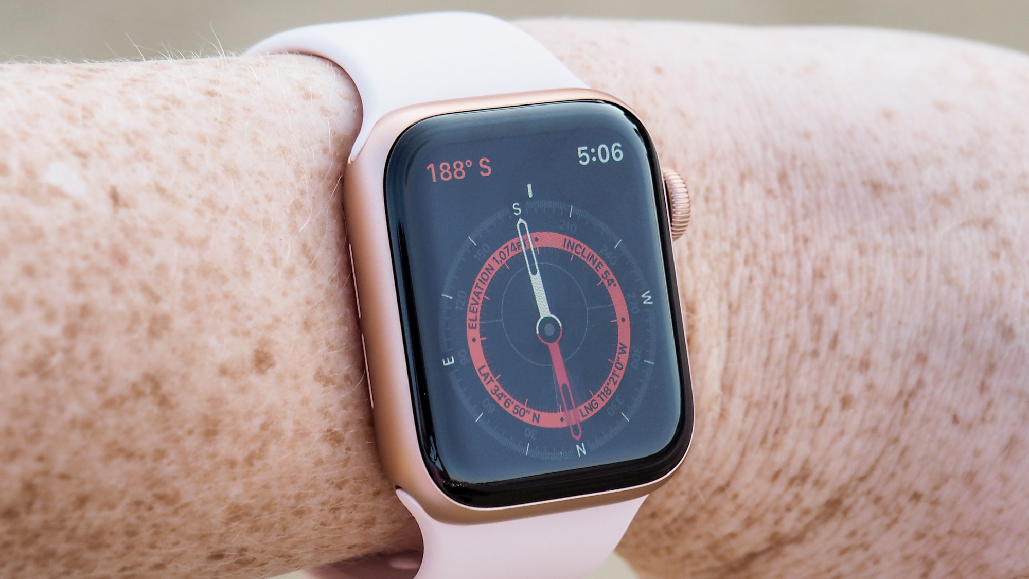 la meilleure Apple Watch.  Apple Watch série 4:
