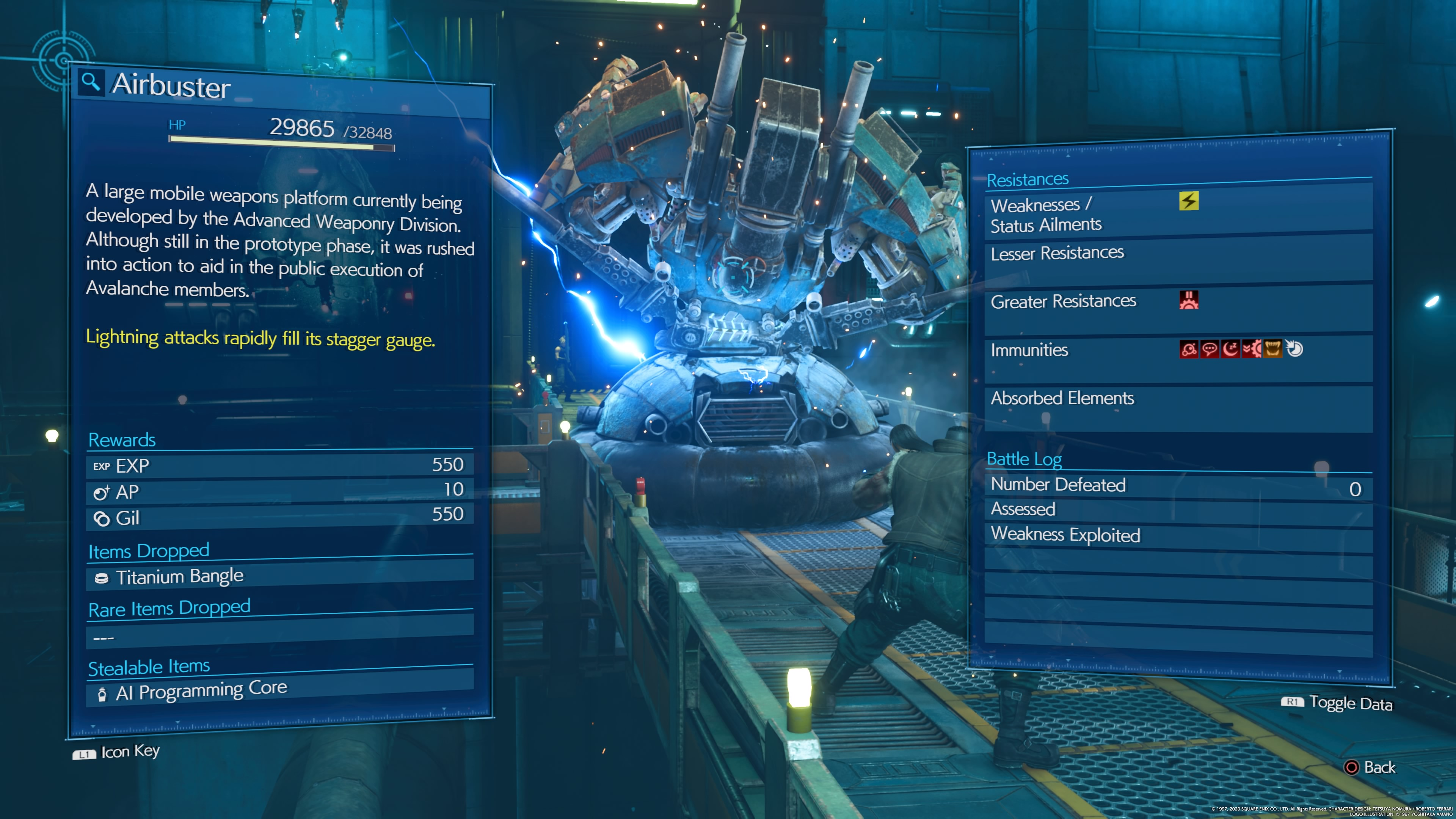 How To Beat Airbuster In Final Fantasy 7 Remake Techradar