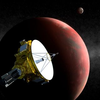 Artist's Concept of New Horizons