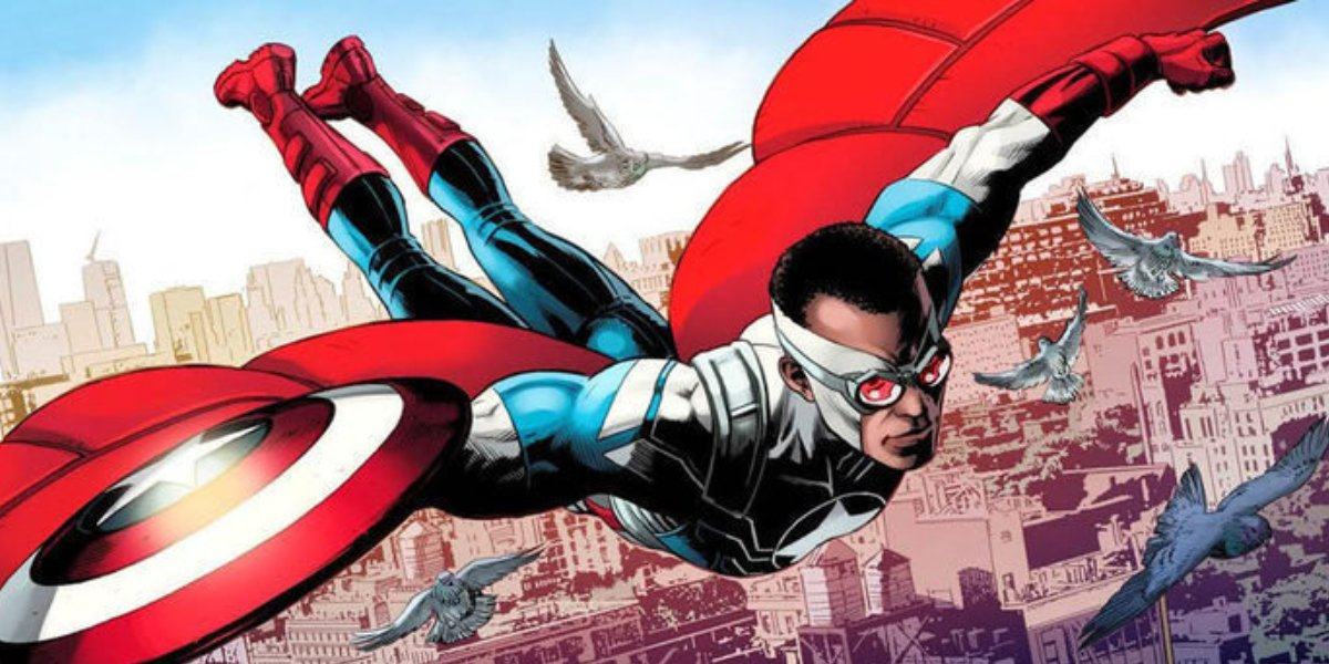 Sam Wilson is Captain America