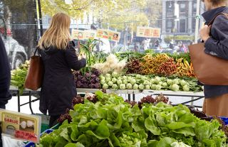 farmers market, be healthy