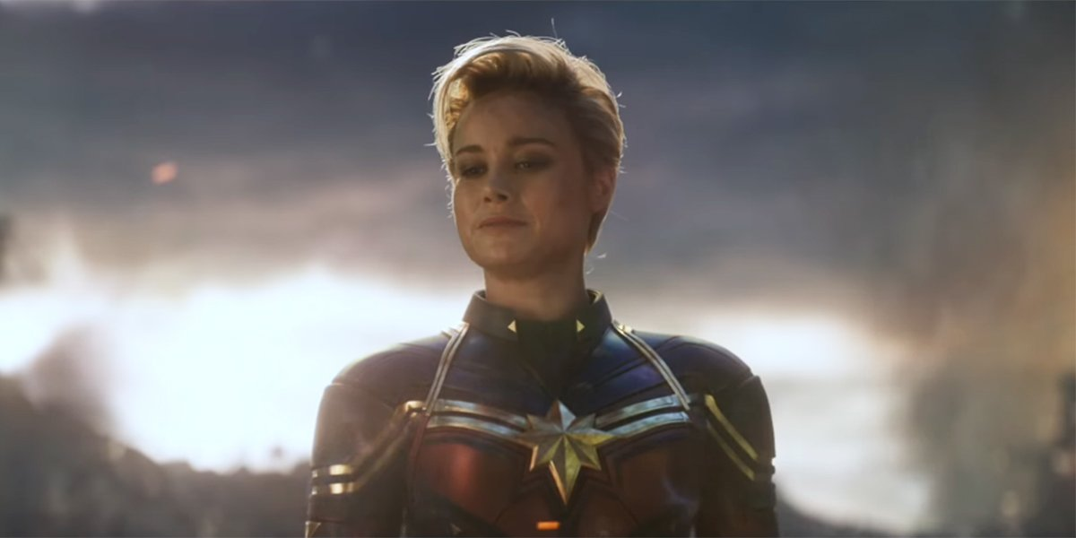 Why Captain Marvel Has That Haircut In Avengers: Endgame And What It Could Have Looked Like - CINEMABLEND