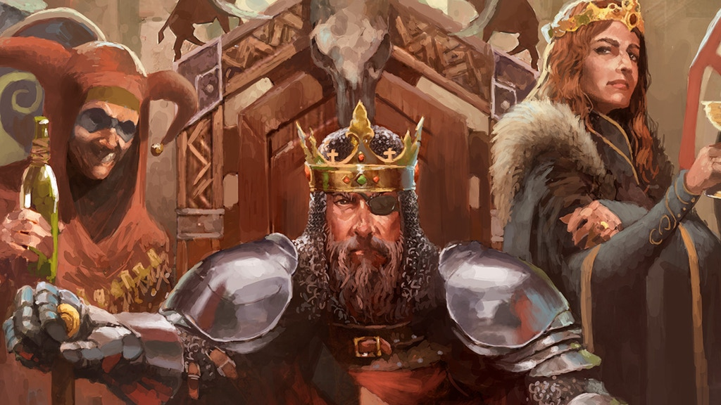 The Crusader Kings board game launches in August   PC Gamer