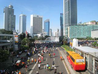 car free day, Jakarta