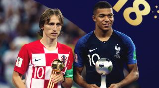 Modric Mbappe World Cup