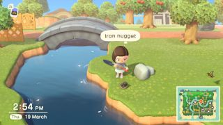 Animal Crossing: New Horizons iron nuggets