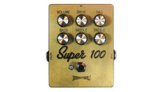 Skreddy Pedals' Super 100 emulates a cranked Marshall