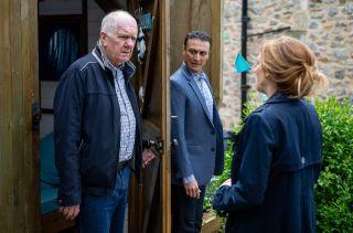 Doug finds Laurel with Jai
