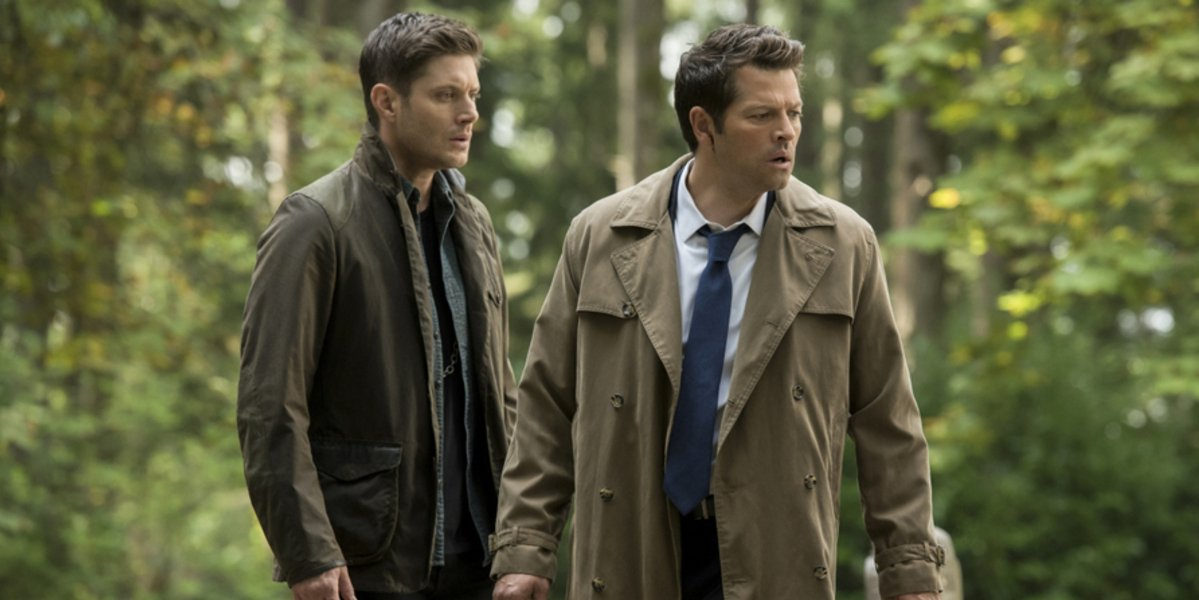 supernatural season 15 dean castiel the cw