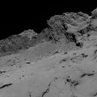 Comet 67P/Churyumov-Gerasimenko by ESA's Rosetta