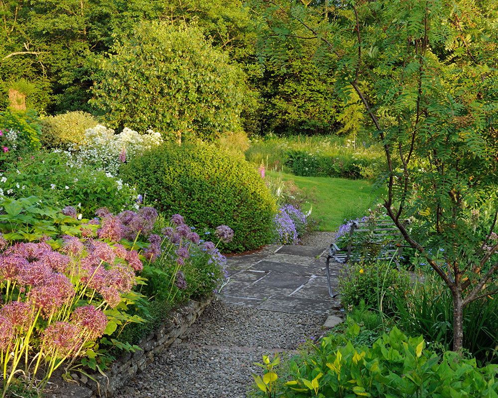 Garden ideas on a slope – ideas for gardens on a slope