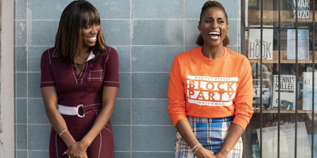 Issa Rae and Yvonne Orji in Insecure