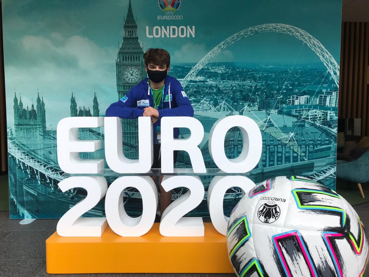 Young Journalists get their chance to shine as Gazprom Football for Friendship gives them the opportunity to cover Euro 2020
