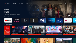 Android TV updates home screen for Freeview Play viewers