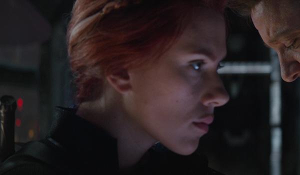 Black Widow in Avengers Endgame