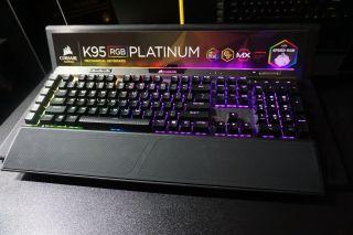 Corsair K95 RGB Platinum Streamlines MMO Keyboards   Tom's Guide