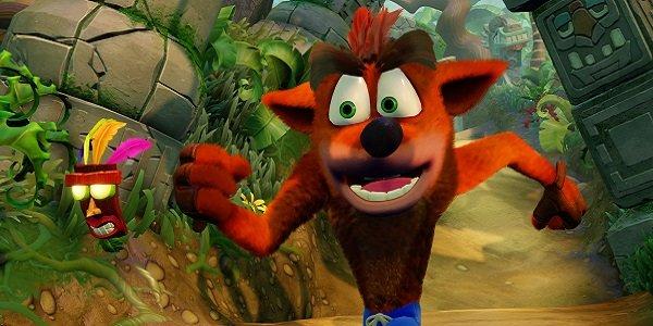 Crash Bandicoot runs for his life
