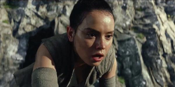 Rey in Gray Star Wars The Last Jedi