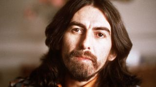 A photograph of George Harrison taken in Cannes in 1976