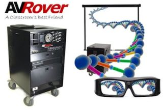 XPAND 3D and AVRover Develop 3D Glasses for Education Market