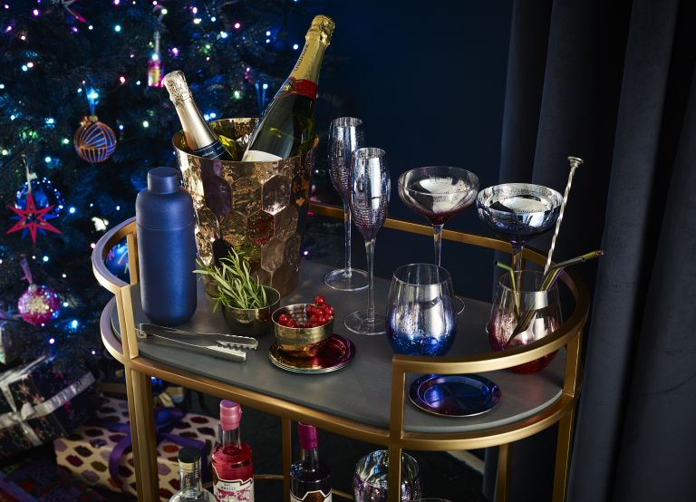 Cocktail recipes: Lovelace Bar Cart Gold from John lewis & Partners