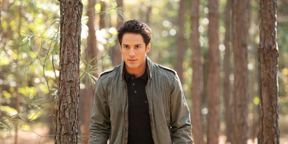 Michael Trevino as Tyler Lockwood on The Vampire Diaries