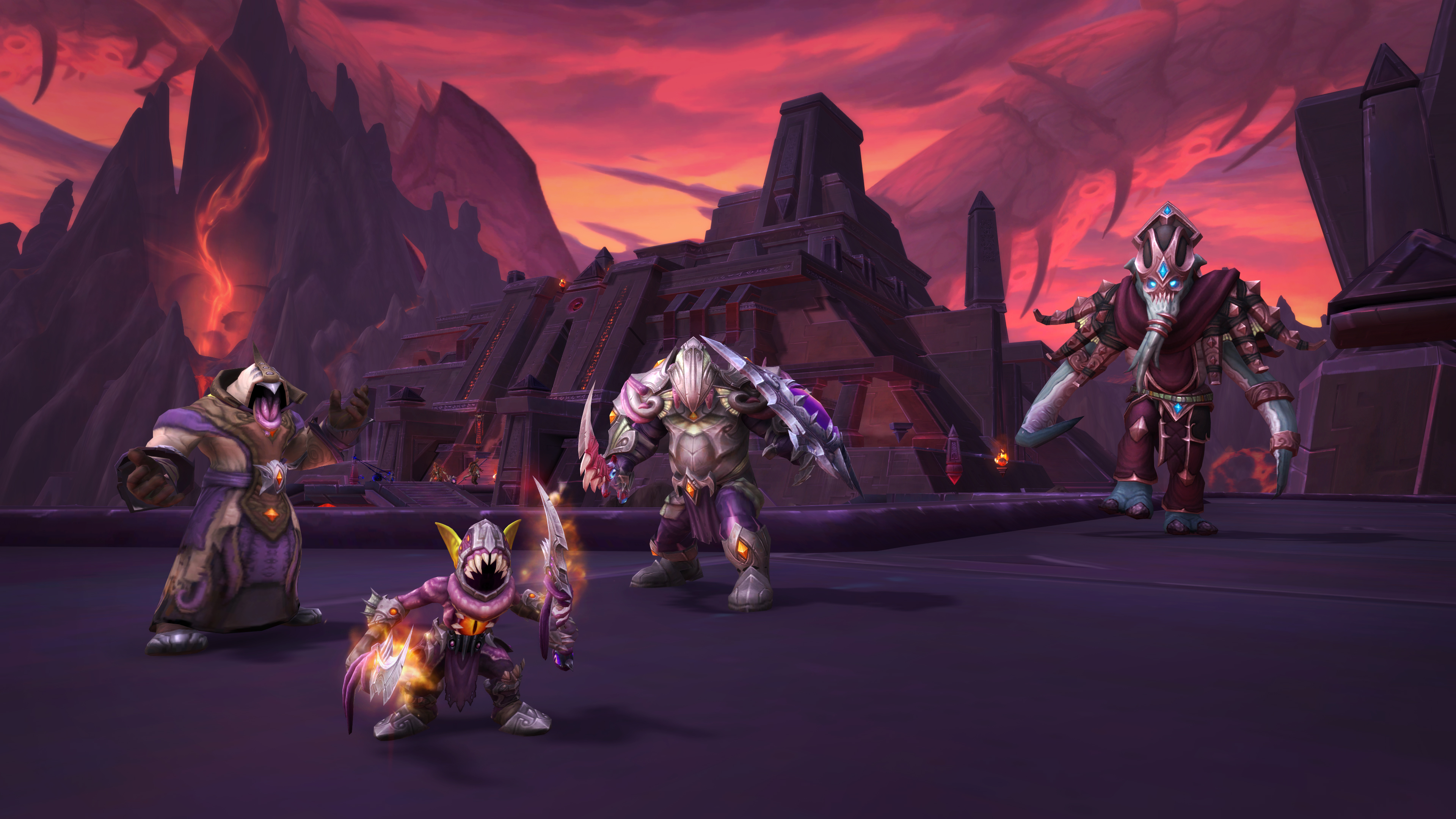 WoW 8.3 raid guide: how to beat Ny'alotha, The Waking City | PC Gamer