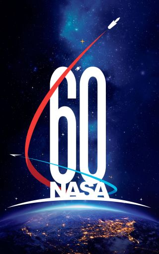 nasa 60th anniversary logo
