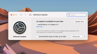 MacOS 11.2 Big Sur update