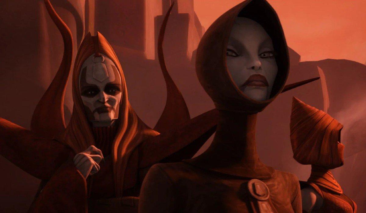 The Nightsisters looking menacing